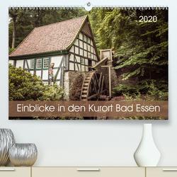 Einblicke in den Kurort Bad Essen (Premium, hochwertiger DIN A2 Wandkalender 2020, Kunstdruck in Hochglanz) von Rasche,  Marlen