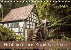 Einblicke in den Kurort Bad Essen (Tischkalender 2019 DIN A5 quer) von Rasche,  Marlen