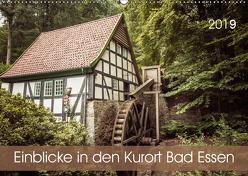 Einblicke in den Kurort Bad Essen (Wandkalender 2019 DIN A2 quer) von Rasche,  Marlen