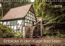 Einblicke in den Kurort Bad Essen (Wandkalender 2019 DIN A4 quer) von Rasche,  Marlen