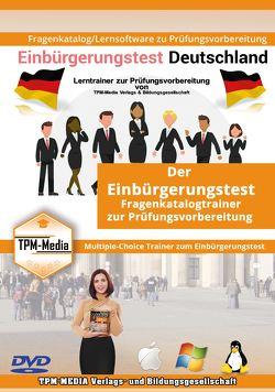 Einbürgerungstest Deutschland Lerntrainer für alle Bundesländer von Mueller,  Thomas