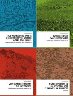 Einbürgerungen in Liechtenstein 19.–20. Jahrhundert von Argast,  Regula, Biedermann,  Klaus, Marxer,  Veronika, Schwalbach,  Nicole