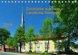Eindrücke aus dem Landkreis Nienburg (Tischkalender 2019 DIN A5 quer) von Wösten,  Heinz