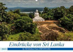 Eindrücke von Sri Lanka 2019 (Wandkalender 2019 DIN A2 quer) von BRUEHNE FOTO (TBFOTO.DE),  TILL