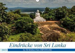 Eindrücke von Sri Lanka 2019 (Wandkalender 2019 DIN A3 quer) von BRUEHNE FOTO (TBFOTO.DE),  TILL