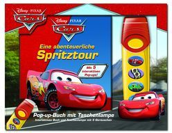 Eine abenteuerliche Spritztour – Disney·Pixar Cars – Pop-up-Buch mit Taschenlampe – Bilderbuch mit 5 coolen Sounds für hochtourigen Spaß!