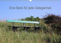 Eine Bank für jede Gelegenheit. (Wandkalender 2019 DIN A3 quer) von Malkidam