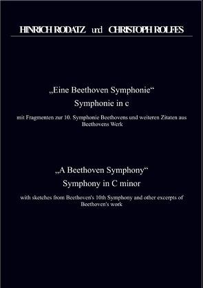 Eine Beethoven Symphonie Partitur von Rolfes,  Christoph