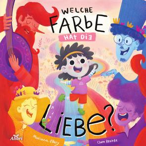 Eine Farbe namens Liebe von Ellery,  Mariana, Hülstrunk,  Dirk, Reschke,  Clara