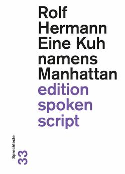 Eine Kuh namens Manhattan von Hermann,  Rolf