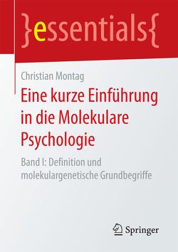 Eine kurze Einführung in die Molekulare Psychologie von Montag,  Christian