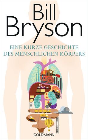 Eine kurze Geschichte des menschlichen Körpers von Bryson,  Bill, Vogel,  Sebastian