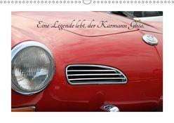 Eine Legende lebt, der Karmann-Ghia (Wandkalender 2019 DIN A3 quer) von Sabel,  Jörg