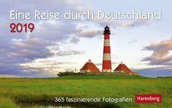 Eine Reise durch Deutschland – Kalender 2019 von Harenberg, Weindl,  Andrea