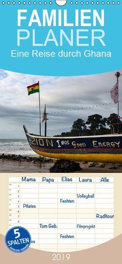 Eine Reise durch Ghana – Familienplaner hoch (Wandkalender 2019 , 21 cm x 45 cm, hoch) von Schröder,  Silvia