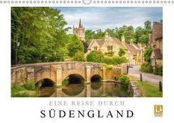 Eine Reise durch Südengland (Wandkalender 2019 DIN A3 quer) von Mueringer,  Christian