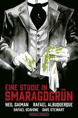 Eine Studie in Smaragdgrün von Albuquerque,  Rafael, Gaiman,  Neil, Nielsen,  Jens R, Scavone,  Rafael, Stewart,  Dave