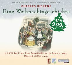 Eine Weihnachtsgeschichte von Augustinski,  Peer, Dickens,  Charles, Quadflieg,  Will, Semmelrogge,  Martin, Steffen,  Manfred