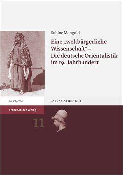 """Eine """"weltbürgerliche Wissenschaft"""" von Mangold,  Sabine"""