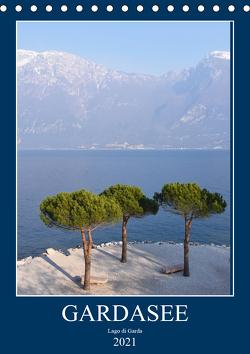 Eine zauberhafte Reise um den Gardasee (Tischkalender 2021 DIN A5 hoch) von Bentfeld,  Tina