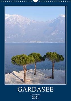 Eine zauberhafte Reise um den Gardasee (Wandkalender 2021 DIN A3 hoch) von Bentfeld,  Tina