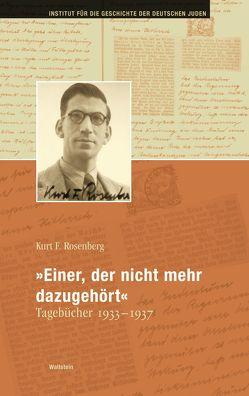 """""""Einer, der nicht mehr dazugehört"""" von Meyer,  Beate, Rosenberg,  Kurt F., Siegel,  Björn"""