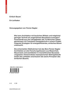 Einfach Bauen von Nagler,  Florian