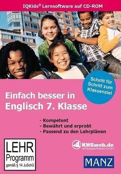 Einfach besser in Englisch 7. Klasse (Win 7 / Vista / XP) von Ballin,  Dieter, Ratcliffe,  Mary