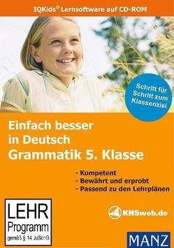 Einfach besser lernen – Fit in Deutsch: Grammatik 5. Klasse (Windows 10 / 8 / 7 / Vista / XP) von Süss,  Peter