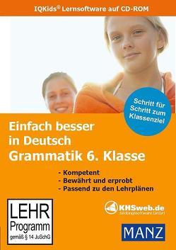 Einfach besser lernen – Fit in Deutsch: Grammatik 6. Klasse (Win 7 / Vista / XP) von Süß,  Peter