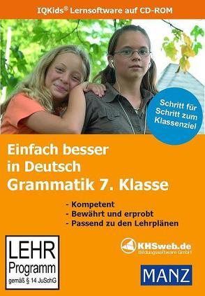 Einfach besser lernen – Fit in Deutsch: Grammatik 7. Klasse (Windows 10 / 8 / 7 / Vista) von Ballin,  Dieter, Süss,  Peter