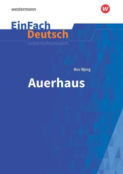 EinFach Deutsch Unterrichtsmodelle von Prangemeier,  Heike