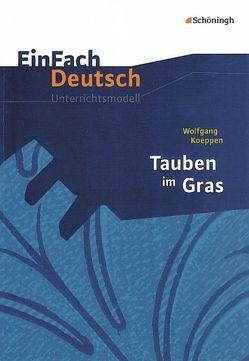 EinFach Deutsch Unterrichtsmodelle von Bauer,  Dirk, Schütte,  Judith