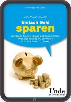 Einfach Geld sparen von Jüngst,  Wolfgang