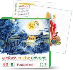 einfach.mehr.advent. 2017/ Familienkalender von Deutscher Katecheten-Verein e. V., Verband Katholischer Tageseinrichtungen für Kinder (KTK)
