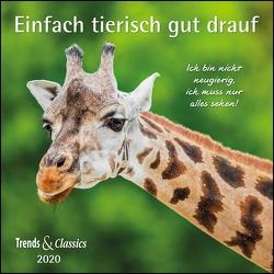 Einfach tierisch gut drauf 2020 – Broschürenkalender – Wandkalender – mit herausnehmbarem Poster – Format 30 x 30 cm von DUMONT Kalenderverlag