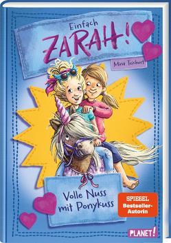 Einfach Zarah! 2: Volle Nuss mit Ponykuss von Bierkandt,  Julia, Teichert,  Mina