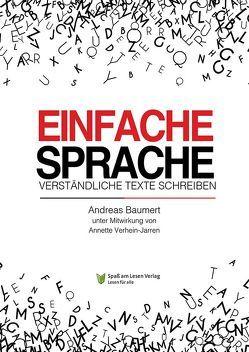Einfache Sprache von Baumert,  Andreas, Spaß am Lesen Verlag GmbH