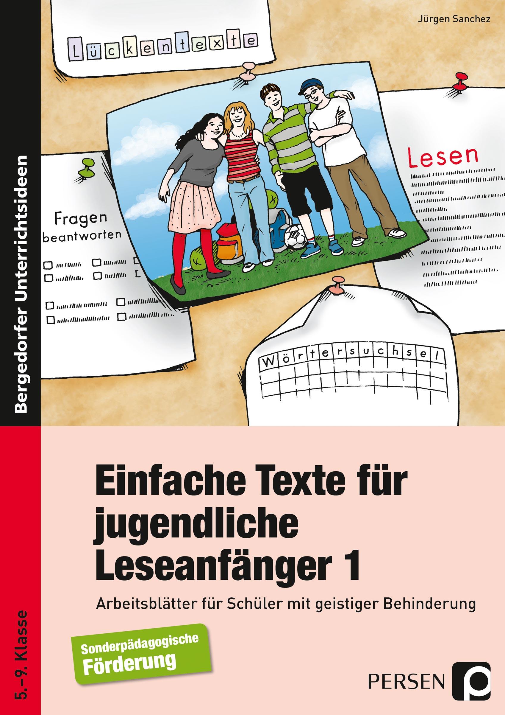 Einfache Texte für jugendliche Leseanfänger von Sanchez, Jürgen: Ar