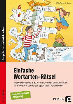 Einfache Wortarten-Rätsel von Rehschuh-Blasse,  Ulrike