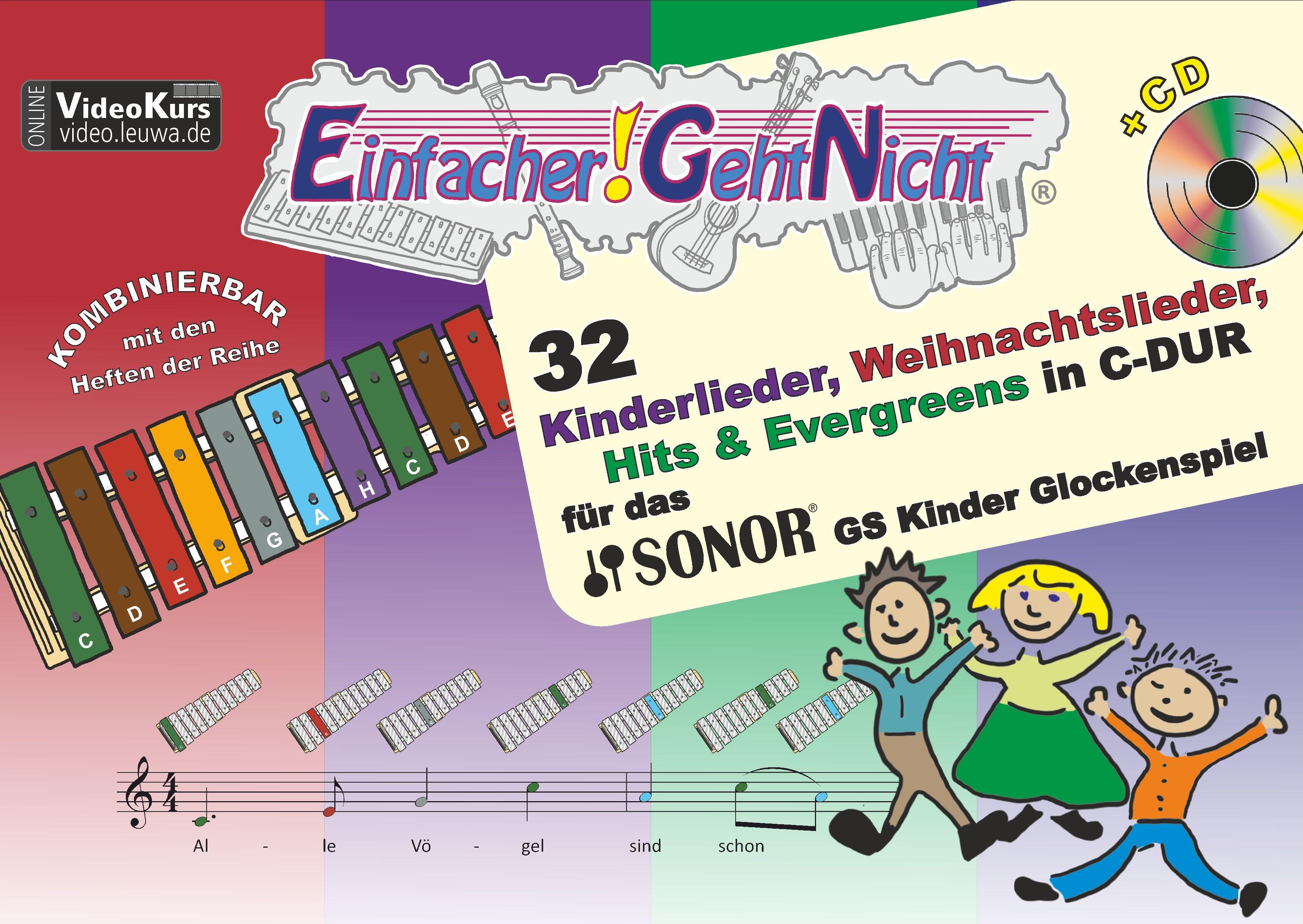 Einfacher!-Geht-Nicht: 32 Kinderlieder, Weihnachtslieder, Hits & Everg