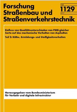 Einfluss von Qualitätsunterschieden PMB gleicher Sorte auf das mechanische Verhalten von Asphalten von Hase,  M., Oelkers,  C., Schindler,  K., Schroeter,  A., Zumsande,  K.