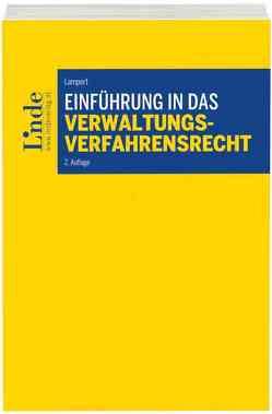 Einführung in das Verwaltungsverfahrensrecht von Lampert,  Stefan
