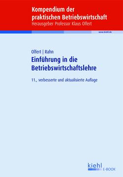 Einführung in die Betriebswirtschaftslehre von Olfert,  Klaus, Rahn,  Horst-Joachim
