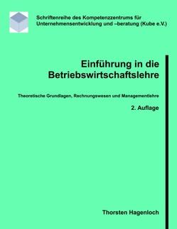 Einführung in die Betriebswirtschaftslehre von Hagenloch,  Thorsten
