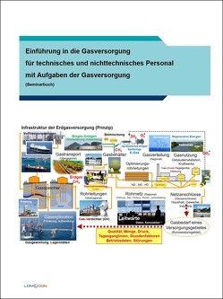 Einführung in die Gasversorgung für technisches und nichttechnisches Personal mit Aufgaben der Gasversorgung von Lomott,  Manfred