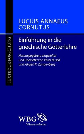 Einführung in die griechische Götterlehre von Busch,  Peter, Zangenberg,  Jürgen