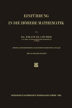 Einführung in die höhere Mathematik von Czuber,  Emanuel