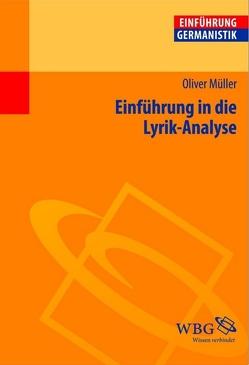 Einführung in die Lyrik-Analyse von Bogdal,  Klaus-Michael, Grimm,  Gunter E., Müller,  Oliver