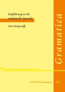 Einführung in die malaiische Sprache von Dempwolff,  Otto